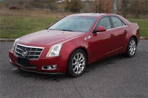 2008 Cadillac CTS AWD Leather Sunroof No Accident Clean Car!
