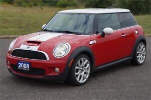 2008 MINI Cooper Hardtop S 6-Speed Manual *No Accident* Clean
