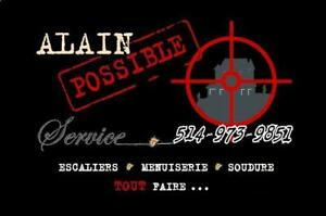 Qualité ; ALAIN POSSIBLE Service