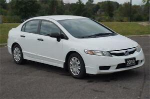 2010 Honda Civic Sdn DX 5-Speed Manual ** Low KM - Mint **