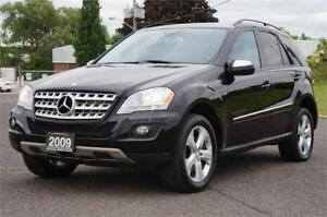 2009 Mercedes-Benz ML320 4MATIC Diesel Low KM *No Accident*