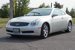 2004 Infiniti G35 Coupe *100,136KM* No Accident - 1-Owner - Mint