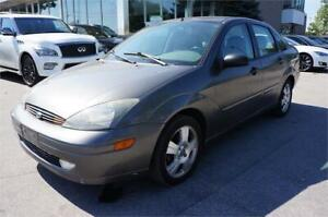 2004 FORD FOCUS| LEATHER SEATS| HEATED SEATS| AS IS