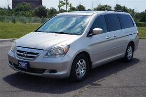 2007 Honda Odyssey EX-L 8-Passenger Leather/SunRoof/DVD Clean!