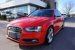 2013 Audi S4|6 SPEED|NAVIGATION| NO ACCIDENT|ONTARIO VEHICLE