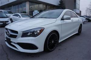 2017 Mercedes-Benz CLA 2504 MATIC NAVI AMG PACKAGE  PANORAMIC