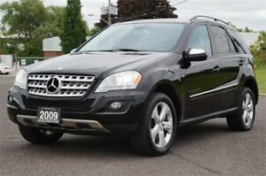 2009 Mercedes-Benz ML320 4MATIC Diesel Low KM *No Accident* Mint