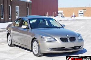 2008 BMW 5 Series 535i Premium Sunroof Leather No Accident