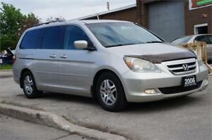 2006 Honda Odyssey Touring Lather/SunRoof/Navigation/DVD~ Mint!