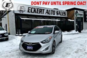 2013 Hyundai Elantra Coupe GS WITH NAV/LEATHER/SUNROOF