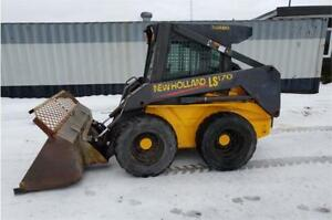 2003 New Holland LS170 Skidsteer