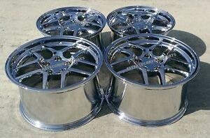 Chrome C5 Z06 Style Corvette wheels 1997-2004 C5 & Z06 17x9.5/18x10.5