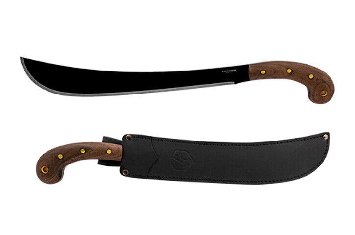 Condor Tool & Knife - Golok Machete - Carbon Steel + Leather Sheath CTK410-14HCS