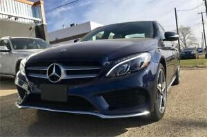 2015 Mercedes-Benz C400 4matic *AMG sty. pkg *original 29,923kms