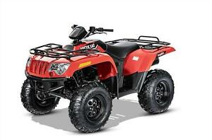 2017 ARCTIC CAT 500 EFI ONLY $5,799.00 ONLY RED LEFT (2) !!