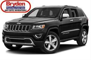 2016 Jeep Grand Cherokee Ltd / 3.6L V6 / Auto / 4x4