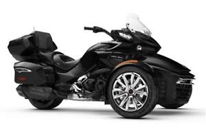 2018 Can-Am Spyder F3 Ltd SE6 w/Chrome Trime - Touring/Cruiser