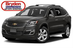 2017 Chevrolet Traverse LT / 3.6L V6 / Auto / All Wheel Drive