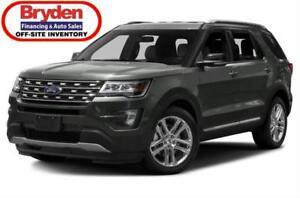 2017 Ford Explorer XLT / 3.5L V6 / auto / 4x4
