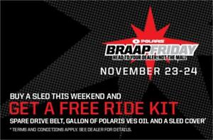 BOURQUE'S BRAAP FRIDAY, HEAD TO OUR DEALERSHIP, NOT THE MALL