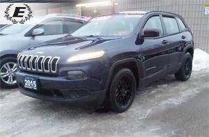 2015 Jeep Cherokee Sport WITH NEW TIRES & RIMS