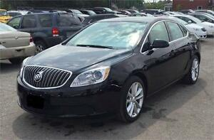 """""""LOW KLM """" 2013 BUICK VERANO LEATHER AUTO LOADED GORGEOUS BLACK!"""