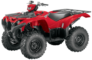 YAMAHA GRIZZLY DAE - ROUGE 2017