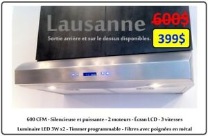 LIQUIDATION HOTTE DE CUISINE  - KITCHEN HOOD SUPER SALES! - MTL
