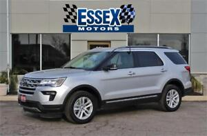 2018 Ford Explorer XLT 4x4**7 Passenger**Factory Warranty***