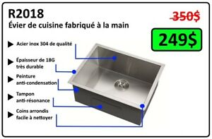 Évier de Cuisine (Kitchen Sink) - MÉGA DEAL!!