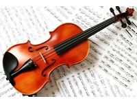 Violin Lessons Available