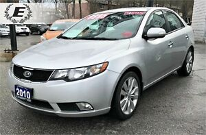 2010 KIA FORTE SX | WITH HEATED SEATS AND BLUETOOTH