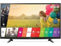 "LG 49UH603V 49"" 4K HDR Ultra-HD Smart LED TV 1200 PMI WebOS 3.0 Ex-Display/New"