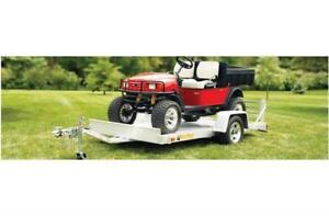 BEAR TRACK 8' ALUMINUM UTILITY TRAILER!  REDUCED $1995!