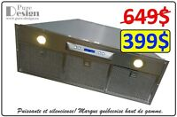 -40% HOTTE DE CUISINE ENCASTRABLE 399$ PURE-DESIGN