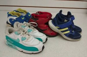 (7) Running shoes for boys size 10