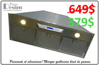 -40% HOTTE DE CUISINE ENCASTRABLE 379$ PURE-DESIGN