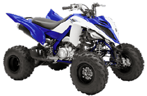 YAMAHA RAPTOR 700 USAGE