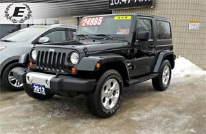 2012 Jeep Wrangler Sahara 4X4   DONT PAY FOR 6 MONTHS!!! OAC