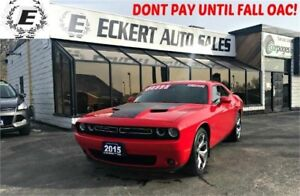 2015 Dodge Challenger R/T WITH LEATHER/REVERSE CAMERA/BLUETOOTH