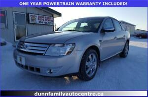 2008 Ford Taurus *Limited AWD*!  VERY LOW KM'S!