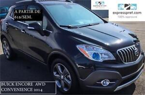 2014 Buick Encore AWD Convenience, À PARTIR DE 61$/SEM. 100% APP