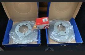 PORSCHE BOXSTER 986 Rear Brake discs & pads