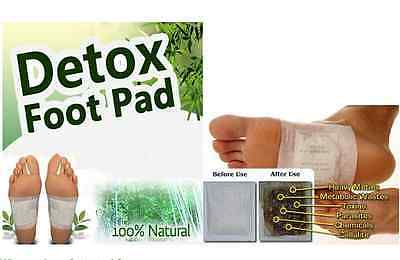 100P DreamMi GOLD Premium Detox Foot Pad+Adhesive Tape Organic Herbal Cleansing