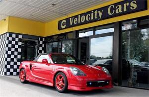 2000 TOYOTA MR-S 2OP S edition SPYDER 60K! SPECIAL OFFER!!!