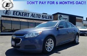 2014 CHEVROLET MALIBU LT WITH SUNROOF/REVERSE CAMERA