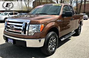 2012 Ford F-150 XLT Super Cab 4x4 | WITH RUNNING BOARDS