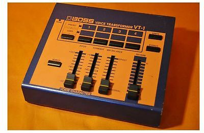 BOSS VT-1 Voice Transformer Vocal Effects Vocoder w/Tracking Number F/S (2)