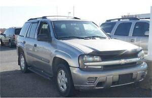 2002 CHEVROLET TRAILBLAZER 4X4 LEATHER LOADED 7 PASSENGER!