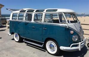 1966 Volkswagen 21 Window Deluxe Sunroof SAMBA